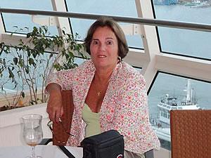 A professora Lígia Mahlmann. Foto: Reprodução / Facebook