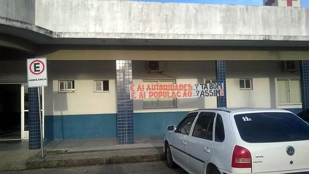 protesto hospital
