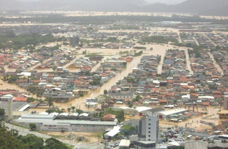 itajai enchente 2008