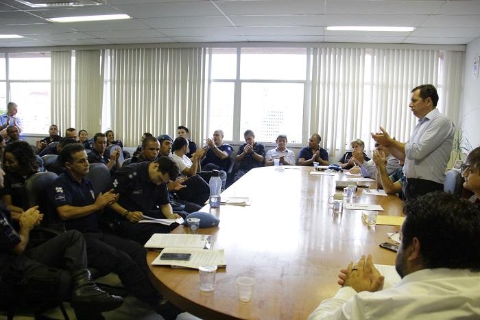 Reunião com a Guarda Municipal
