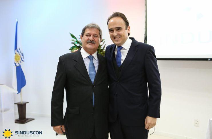 Carlos Haacke e Carlos Humberto Metzner Silva