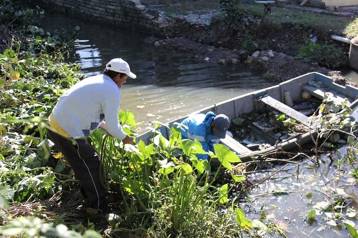 limpeza rio das ostras