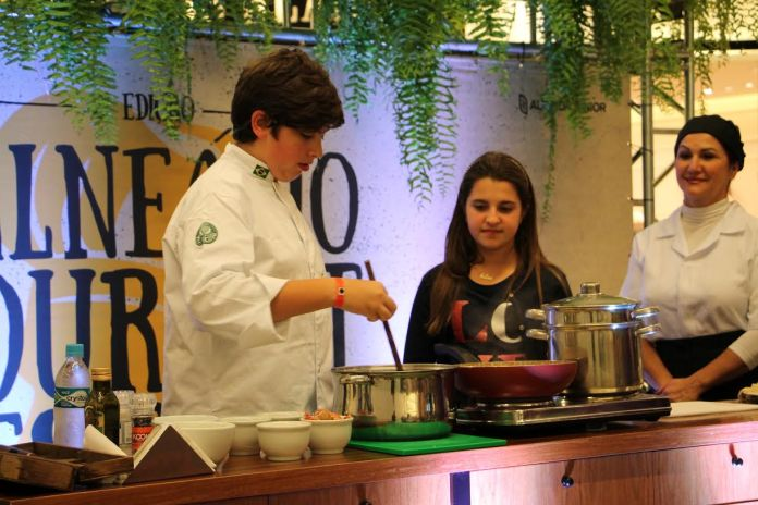 Lorenzo Ravioli no Balneário Gourmet Festival