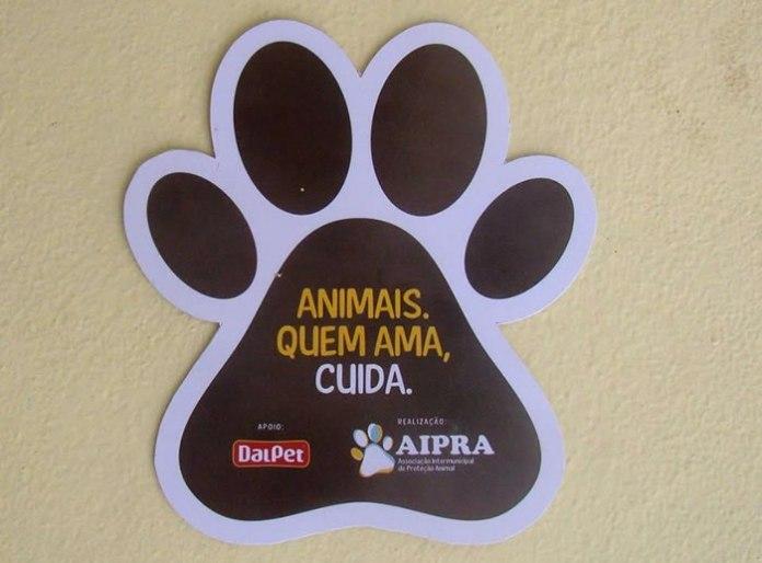 """A ação que ganhou o nome """"Animais, quem ama cuida"""" é uma iniciativa da DalPet, em parceria com a Aipra – Associação Itajaiense de Proteção Animal."""