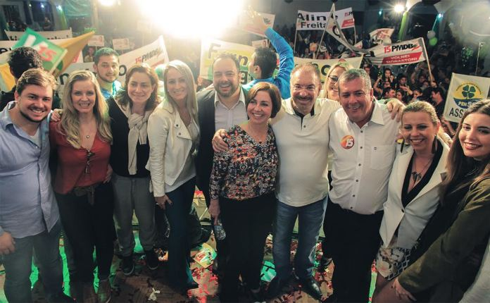convenção PMDB Itajaí Volnei Morastoni