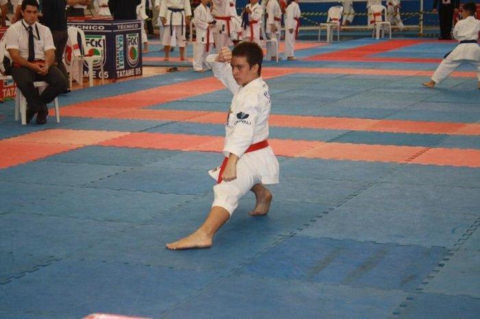 "Karate conquista ouro no Ranking Catarinense Série ""A''"