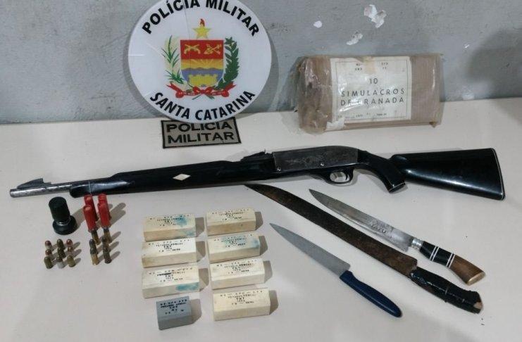arma munições artefatos