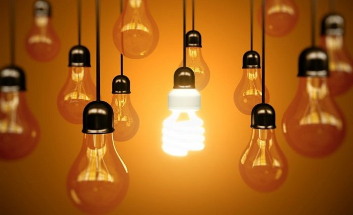 lampadas luz energia