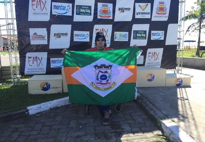 Atleta de Camboriú conquista mais uma medalha no Paraciclismo