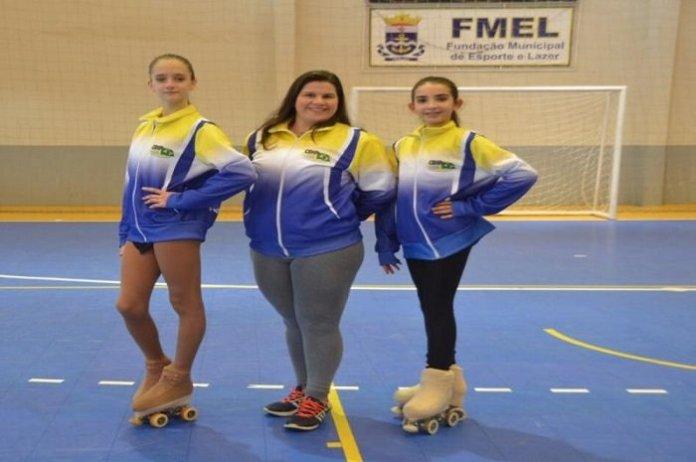 Patinadoras de Itajaí são convocadas para o Campeonato Sul americano de Patinação Artística
