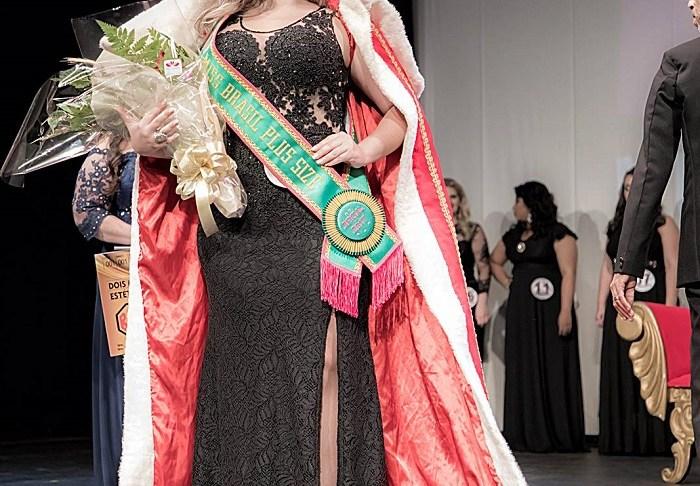 Verônica Isis Dalbem Miss Brasil Plus Size Oficial 2017