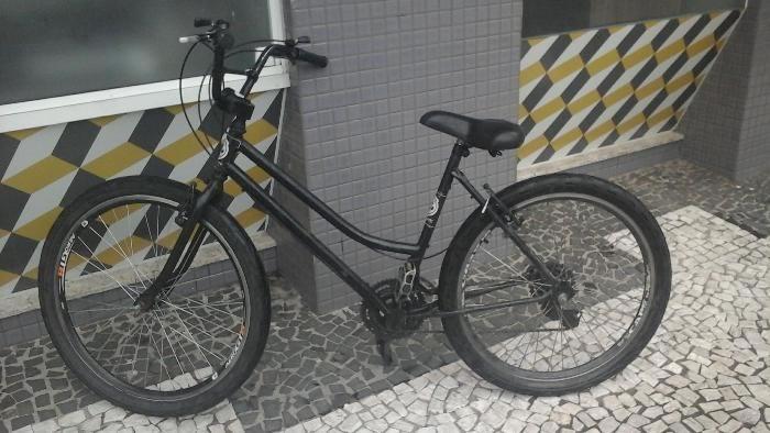 bicicleta tentativa de roubo