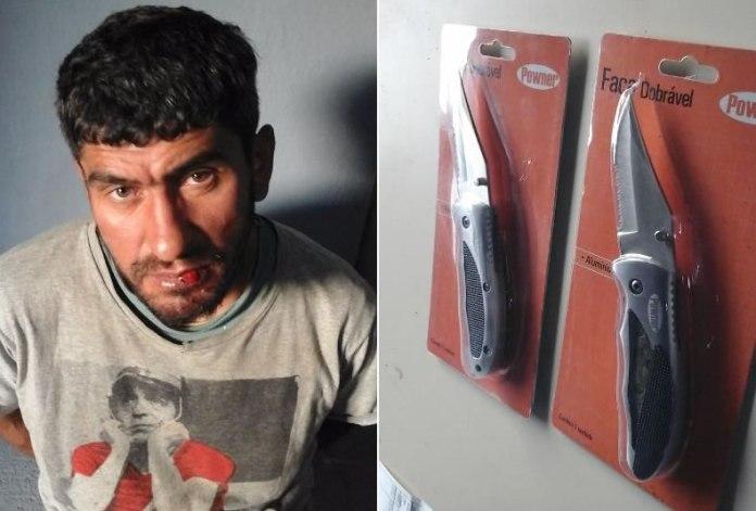 furtou canivetes