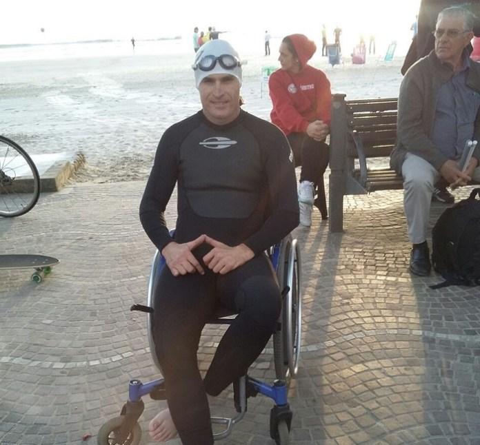 Paratleta de Camboriú é destaque no GP Winter Sprint Triathlon