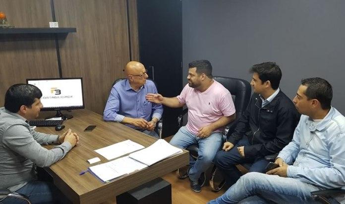 Esperidião Amin visita lideranças do PP de BC
