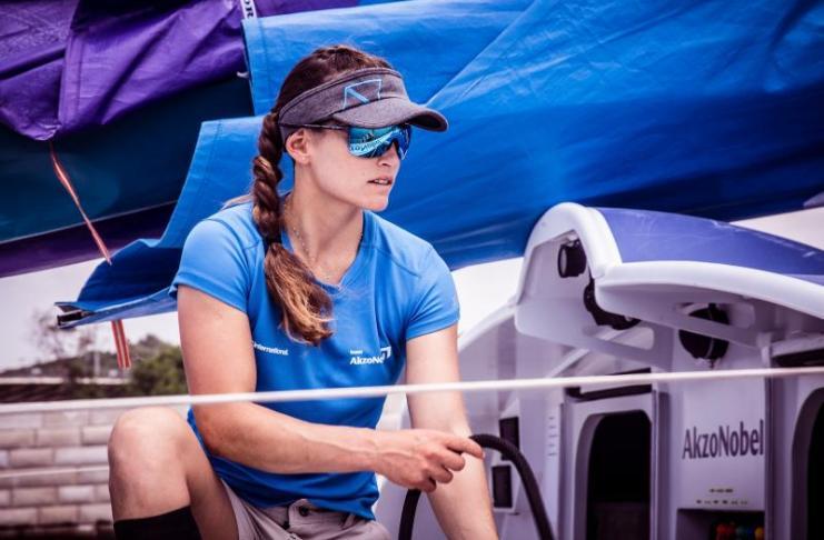 Martine Grael será a primeira brasileira na Volvo Ocean Race