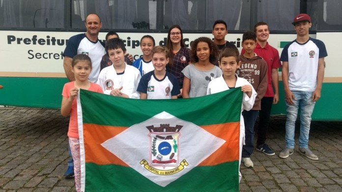 Judocas de Camboriú participam de Copa no Paraná