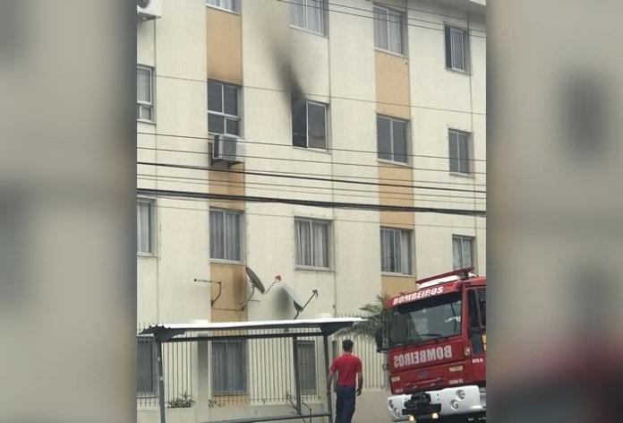 fogo em apartamento
