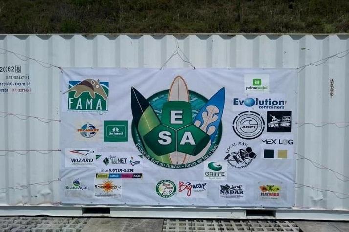 Famai disponibiliza Centro de Educação Ambiental para Associação Escola de Surf