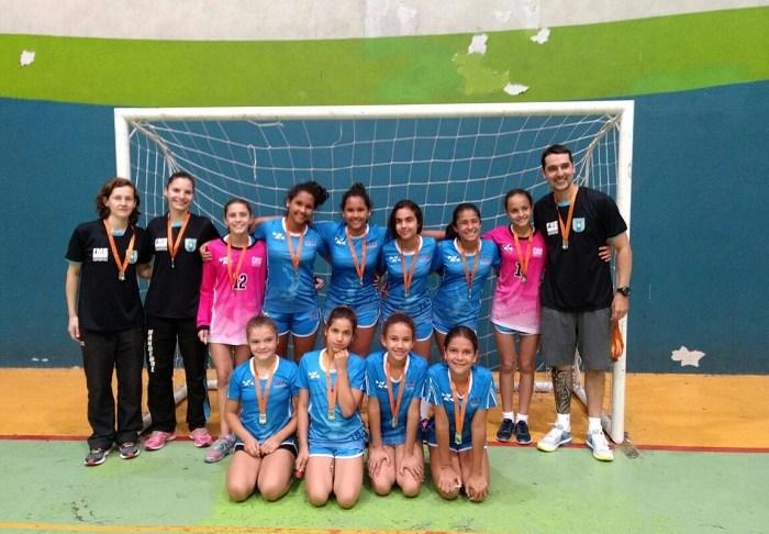 Handebol campeão da Série Prata 15 11 Divulgação