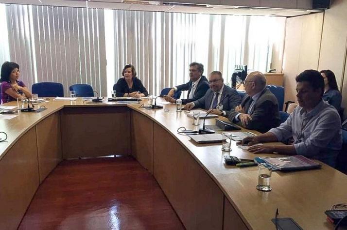 Prefeito oficializa em Brasília solicitação de financiamento internacional