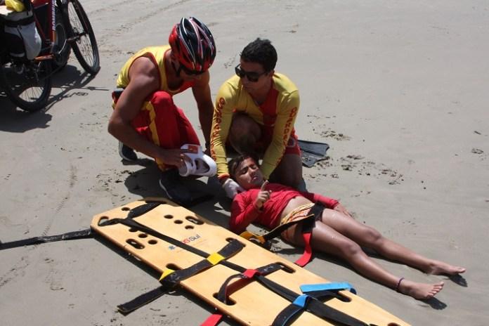 simulado sobre atendimentos de emerg%C3%AAncia na praia