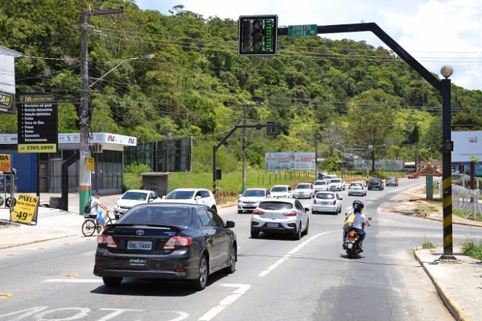 Avenida Santa Catarina camboriu