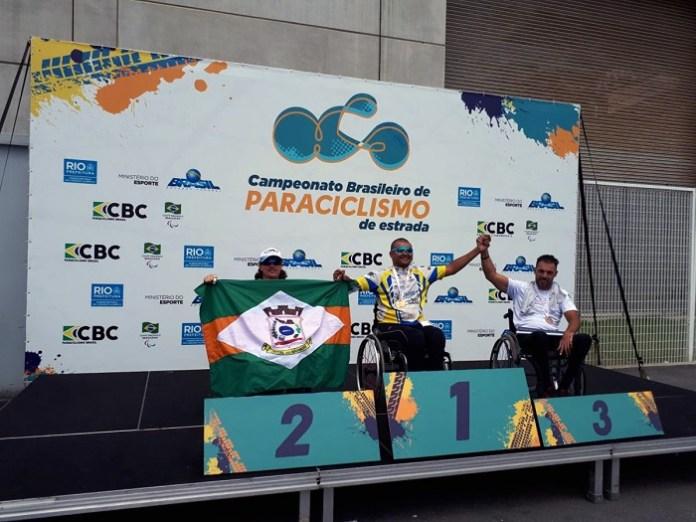 Paratleta de Camboriú é prata no nacional de handbike
