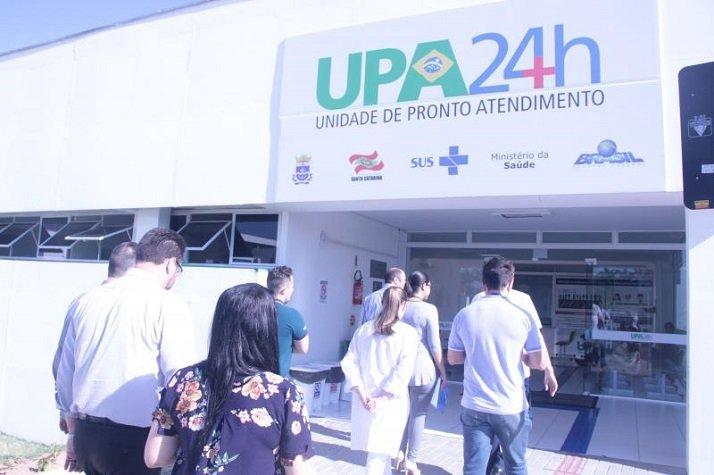 Técnica do Ministério da Saúde visita UPAs de Itajaí