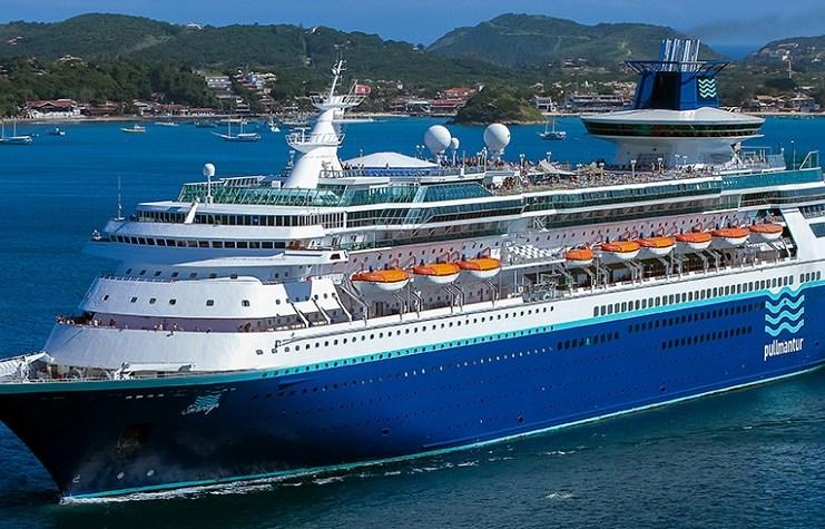 navio Sovereign da empresa Pullmantur.
