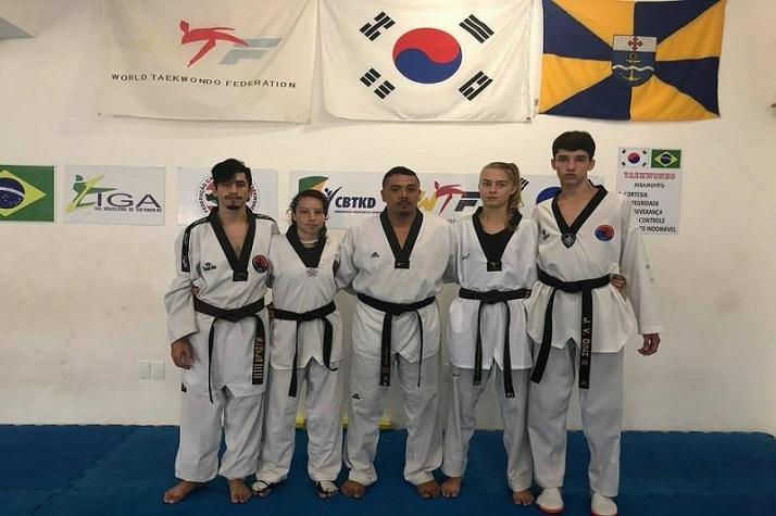 Equipe de taekwondo de Itajaí viaja para o Grand Slam 2018