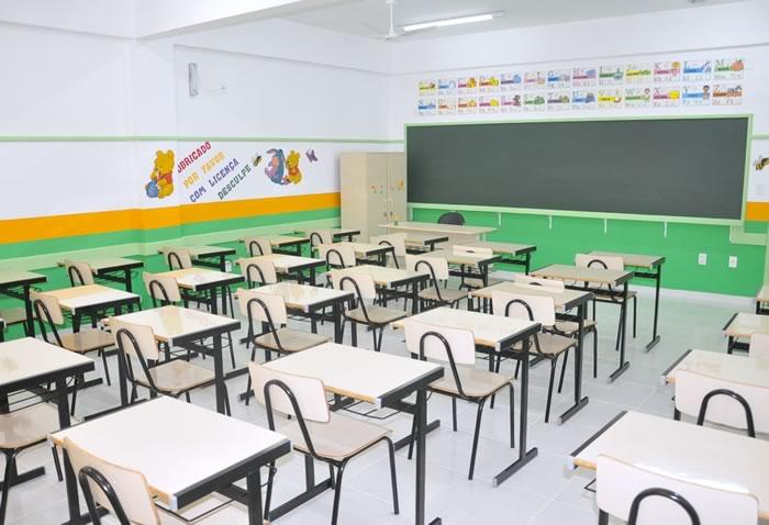 Sala de Aula Escola Abalor Américo Madeira Monte Alegre