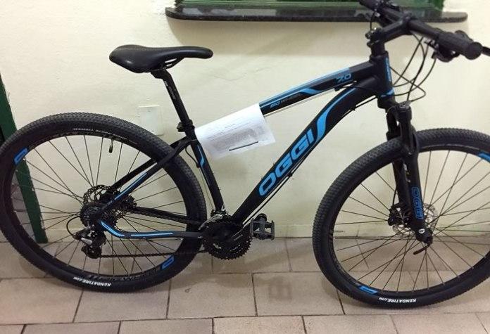 bicicleta apreendida