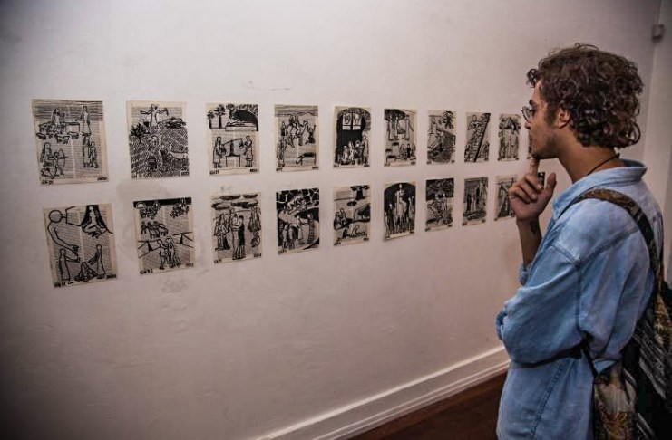 exposições Casa da Cultura itajai