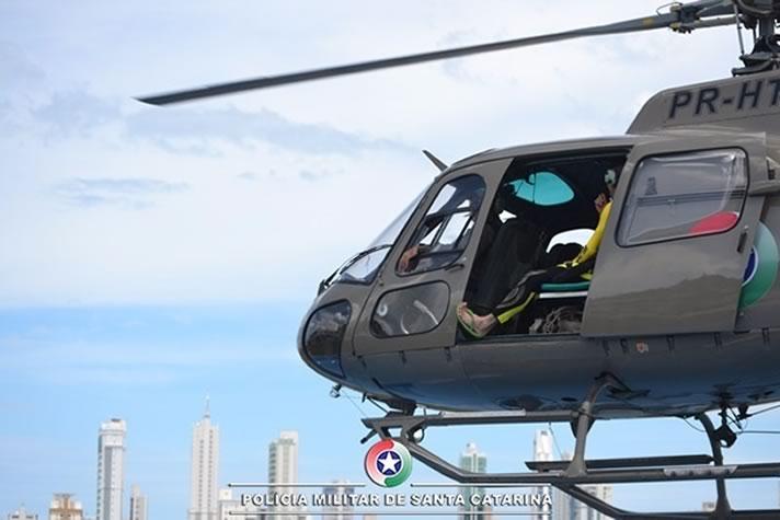 helicoptero da PM