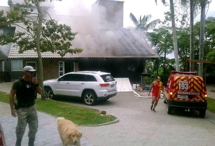 incendio em restaurante