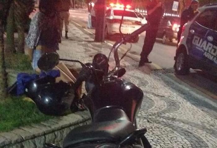 motociclista embriagado