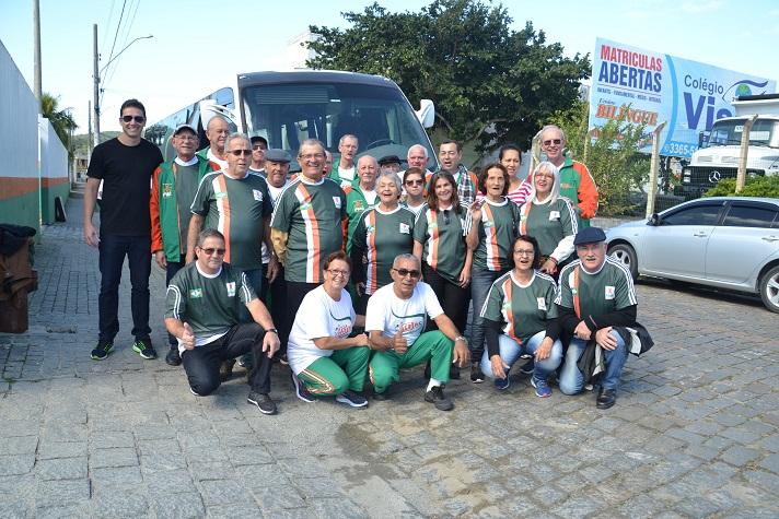 Idosos de Camboriú participam de etapa estadual dos Jogos Abertos da Terceira Idade