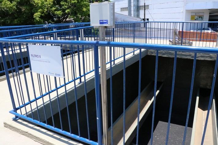 nova Estação de Recalque de Água Tratada ERAT
