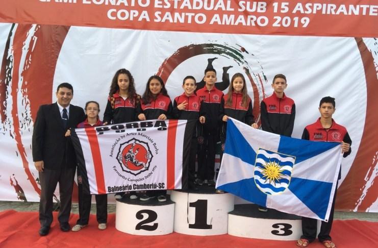 Atletas do Judô de Balneário Camboriú conquistam sete medalhas no final de semana