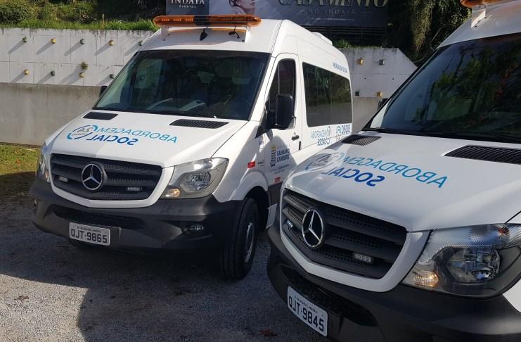 Resgate Social recebe reforço para trabalho com moradores em situação de rua