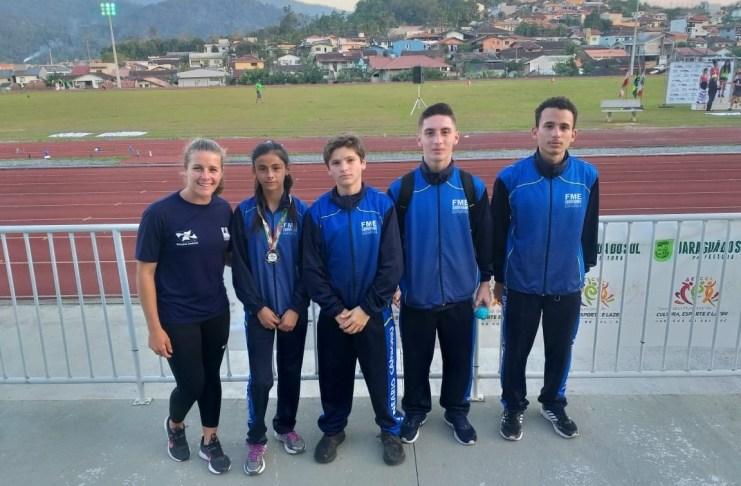 Atleta de BC conquista o bronze no Campeonato Estadual Caixa de Atletismo