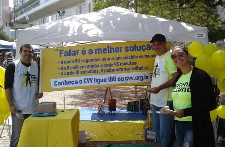 Balneário Camboriú realiza ações no Setembro Amarelo
