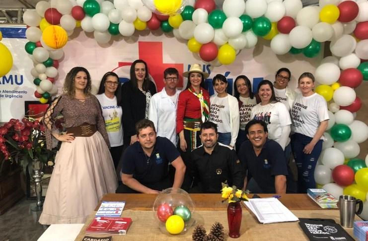 Saúde promove ações no Acampamento Farroupilha