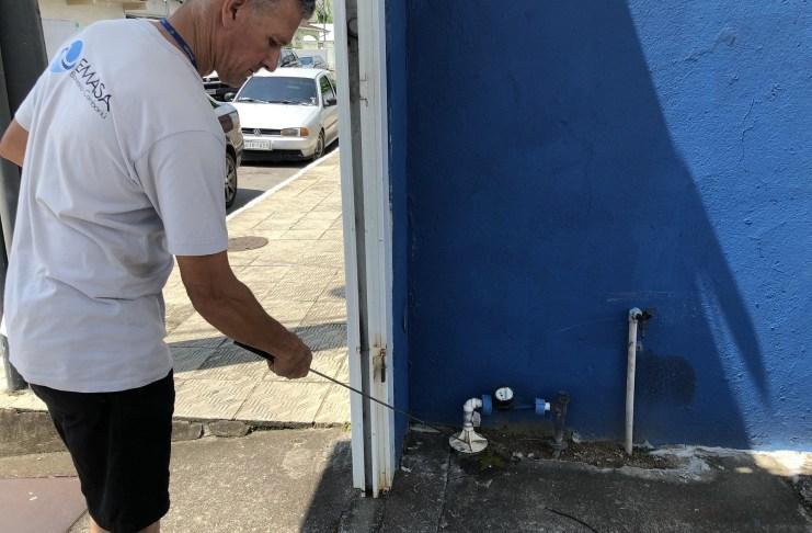 EMASA realiza diagnóstico na rede de água para identificar possíveis vazamentos
