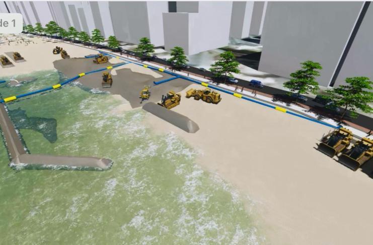 Lançado edital de recuperação da faixa de areia da Praia Central