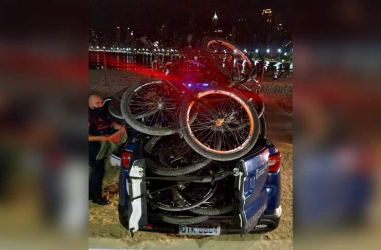 bicicletas recolhidas