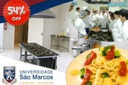 Mamma Mia!!! Que tal ser Chef e Cliente no mesmo dia? Curso de Massas e Molhos na Universidade São Marcos (Tatuapé). Desconto de 54% - De R$140 por R$ 65!!!