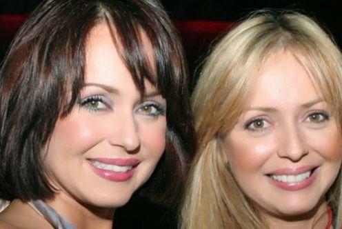 Gabriela e sua irmã Daniela Spanic. Foto: Reprodução.