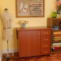 Arrow Sewing Cabinet Marilyn Sewing Machine Storage with ...